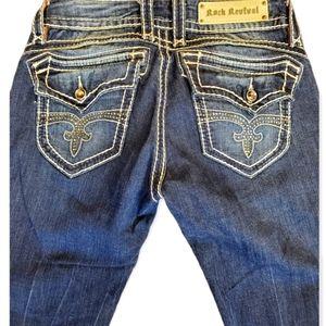 Rock Revival Scarlett Jeans